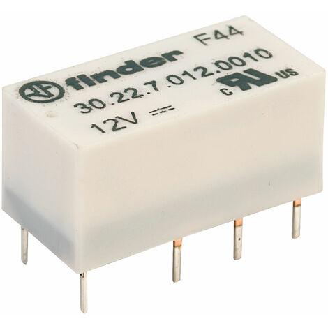Finder 30.22.7.012.0010 12V Relay DPDT 1A High Sensitivity