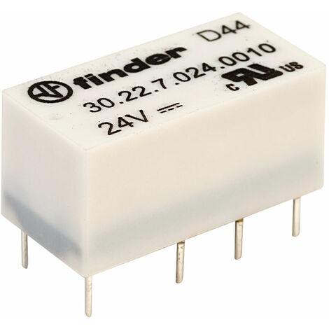 Finder 30.22.7.024.0010 24V Relay DPDT 1A High Sensitivity