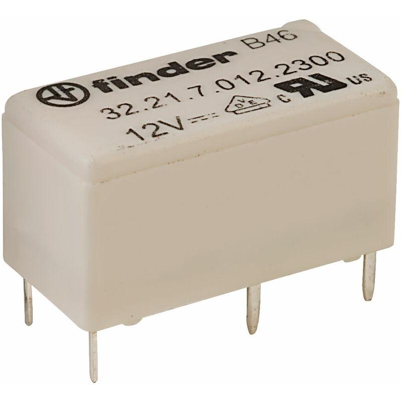 Finder 30.22.7.005.0010 5V Relay DPDT 1A High Sensitivity
