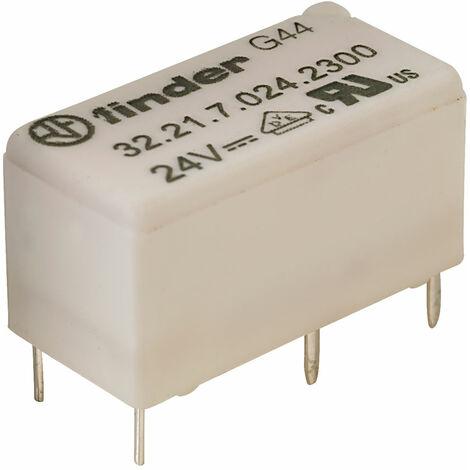 Finder 32.21.7.024.2300 24V Relay SPST DC 6A (Miniature) 32.21