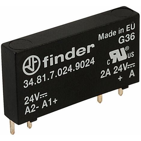 Finder 34.81.7.024.9024 24V Relay SPST DC 2A (Solidstate)