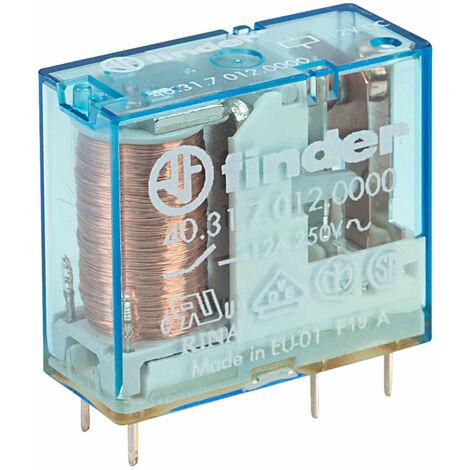 Finder 40.31.7.012.0000 12V Relay (Miniature) SPDT 10A DC