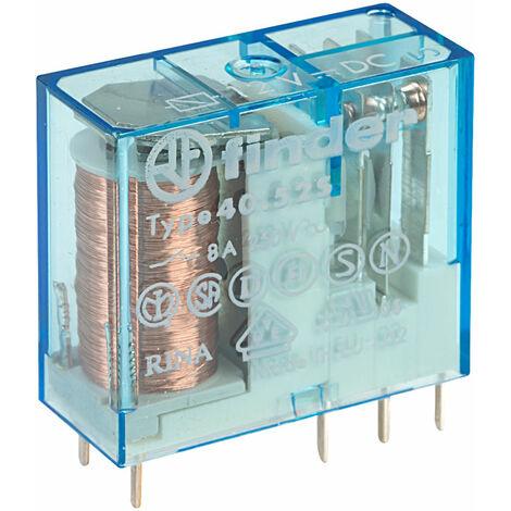 Finder 40.52.7.012.0000 DC DPDT 12V Relay (Miniature) 8A