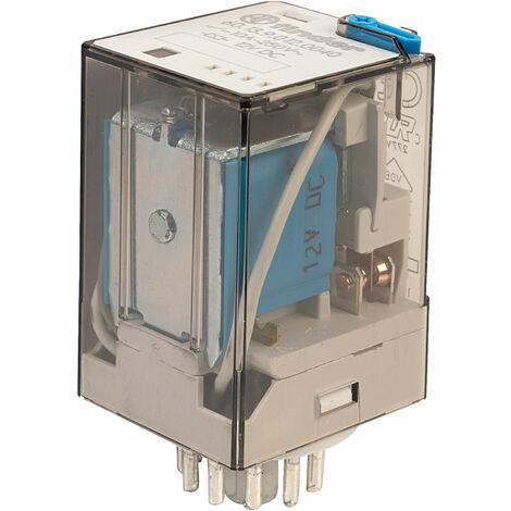 Finder 60.13.9.012.0040 12V Relay (11-Pin) 3PDT DC