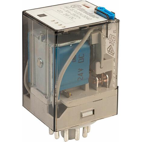 Finder 60.13.9.024.0040 24V Relay (11-Pin) 3PDT DC