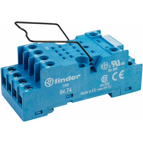 Finder 94.74SMA Plug-In Base 85 Series (Type 94.74)