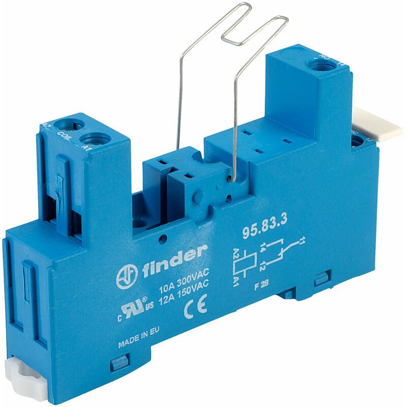 Finder 95.83.3SMA 40.31 Series DIN Socket Type 95.83