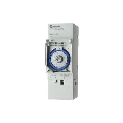 FINDER Treppenhaus-Lichtautomat Multifunktion 6 Programme 1 Schließer 16 A