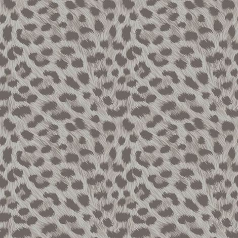 Fine Decor Animal Print Silver/Dark Grey Metallic Wallpaper