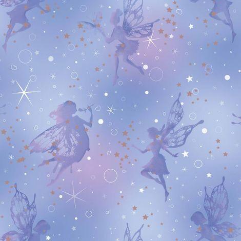 Fine Decor BE DAZZLED Fairy dream Moondust Wallpaper