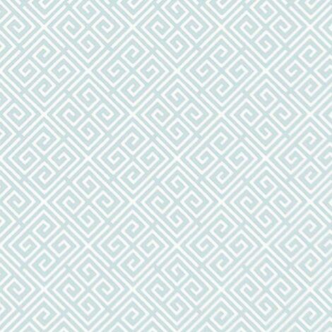 Fine Décor Geometric Light Blue Wallpaper Washable Pastel Wall Covering Matt