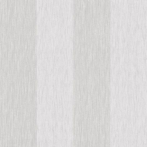 Fine Decor Glittertex Stripe Silver Wallpaper Glitter Sparkle Textured Vinyl