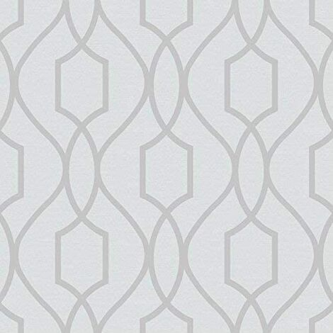 Fine Decor Heavyweight Wallpaper Apex Trellis
