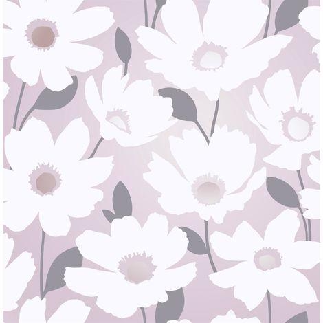 Fine Decor Mia Floral Blush Wallpaper