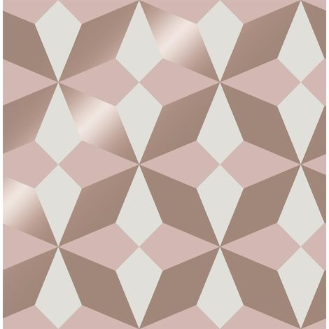 Fine Decor Nova Pink Wallpaper