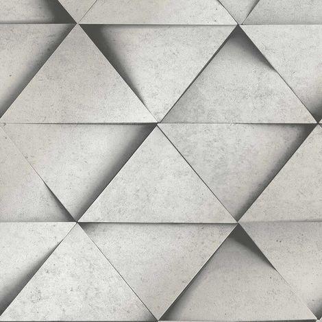 Fine Decor Wallpaper Dimensions Grey FD42558