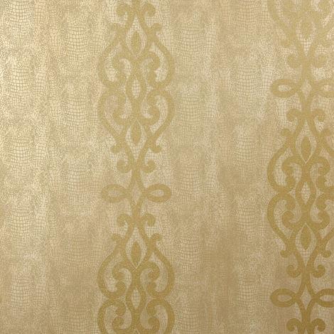 Fine Decor Wallpaper FD20720 Gold