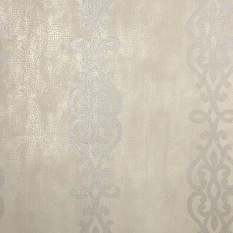 Fine Decor Wallpaper FD20721 Silver