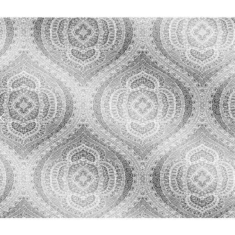 Fine Decor Wallpaper FD21312 Silver
