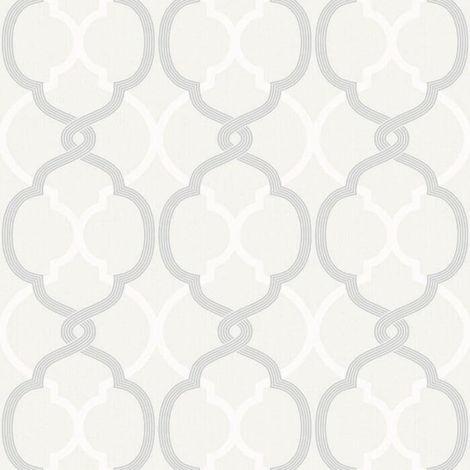 Fine Decor Wallpaper FD41580 Logan Cream