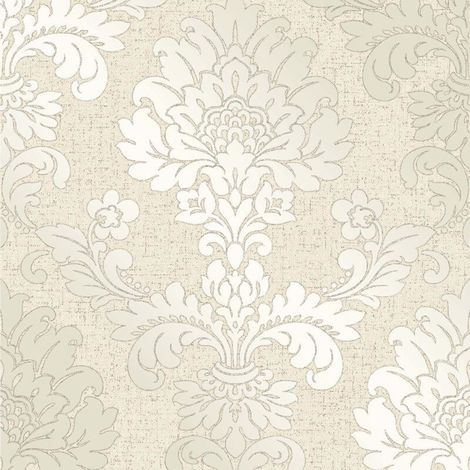 Fine Decor Wallpaper Quartz Damask Gold FD41970