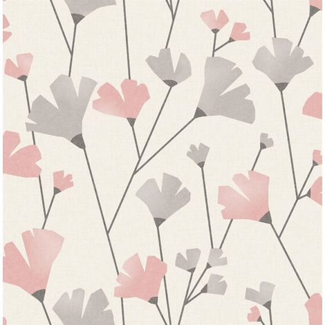 Fine Decor Wallpaper Scandi Blush M1521