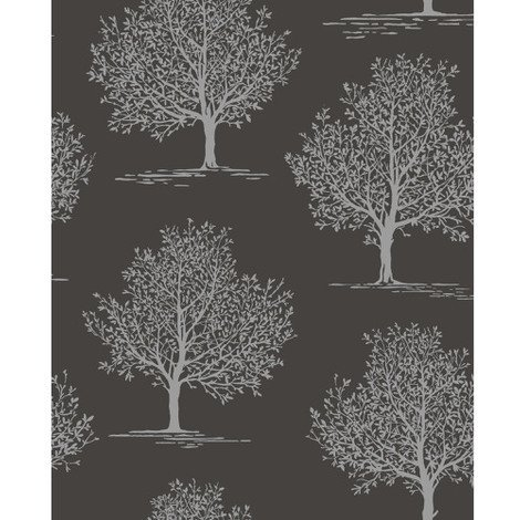 Fine Decor Wallpaper Sparkle Black DL40591
