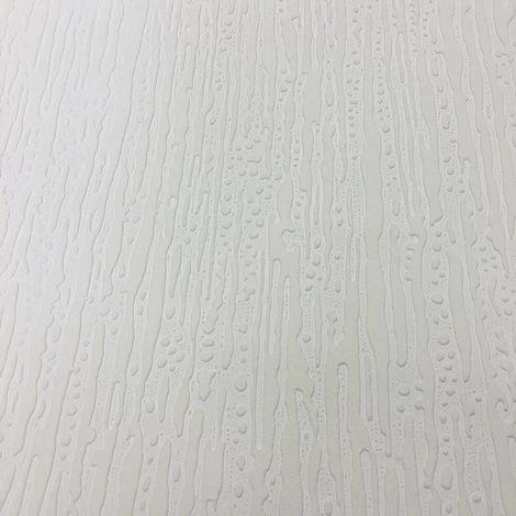 Fine Decor Wallpaper White Blown FD30907