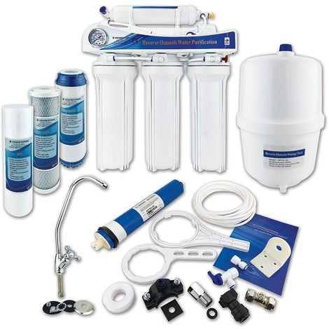 Finerfilters Domestic Undersink 5 Stage Reverse Osmosis System With Fluoride Removal (50 GPD)