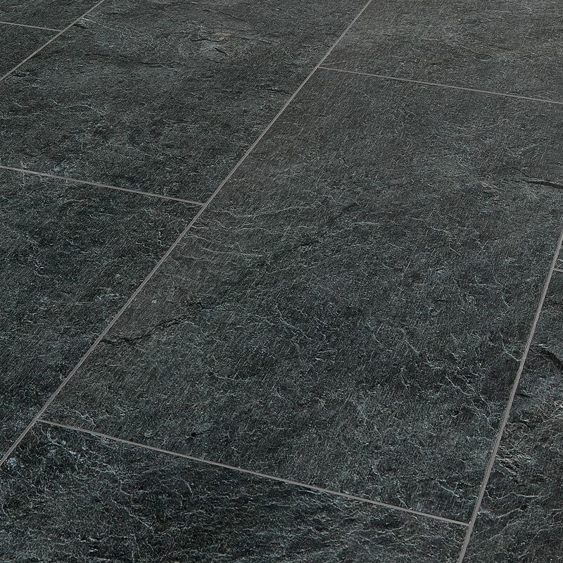 Image of Finesse Flooring - Finesse Silence Nevada Slate Grey Luxury Vinyl Tiles 1280mm x 295mm (Pack Of 7 - 2.64m2)