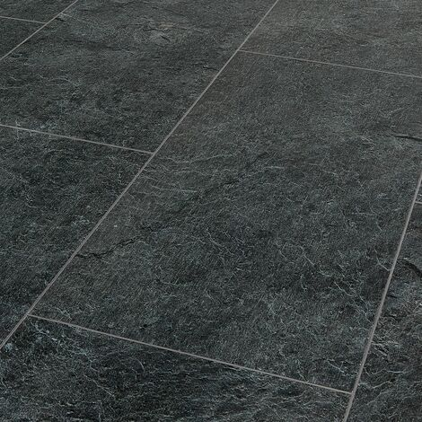 Finesse Silence Nevada Slate Grey Luxury Vinyl Tiles 1280mm x 295mm (Pack Of 7 - 2.64m2)
