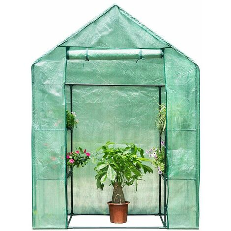 Finether 3 Tier Serre De Jardin Tente Abri Portable Garden