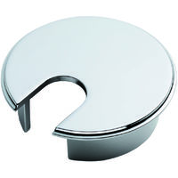 Fingertip Design Heavy Pattern Cable Tidy - 62mm Diameter - Polished Chrome