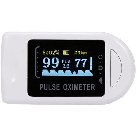Fingertip Pulse Oximeter Mini SpO2 Monitor Oxygen Saturation Monitor Pulse Rate Measuring Gauge Device