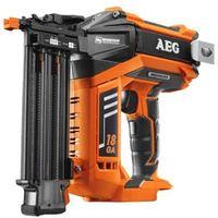 Finish Nagler Brushless AEG 18V Li-Ion 1,2 mm ohne Batterieladegerät B18N18-0
