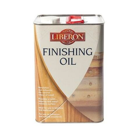 "main image of ""Finishing Oil - Wood Treatment Liberon 500ml"""