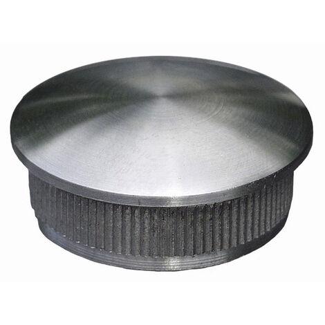 Finition ronde pour tube Ø42,4 épaisseur 2mm. Pas compatible avec les produits de chez WILTEC. Uniquement compatible avec les produits normalisés.