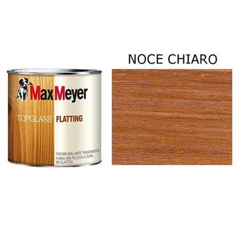 Finitura Legno brillante Noce Chiaro MAX MEYER TopGlass Flatting 0,75 lt