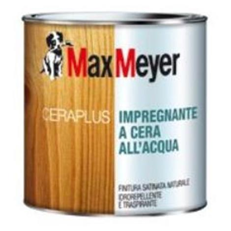 Finitura satinata incolore 0.75 lt Max Meyer CERAPLUS impregnante a cera all'acqua