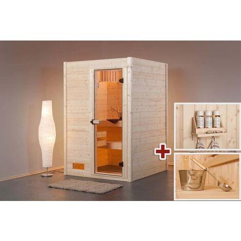 Finntherm Massivholz Sauna Sparset Kateryna Ohne Ofen Zubehör