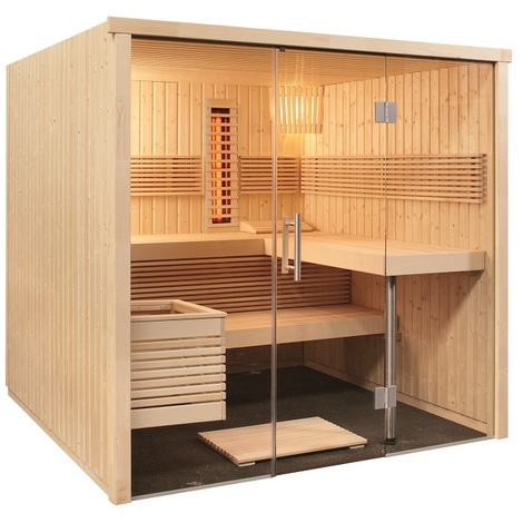 Finntherm Sauna Infrarot Kombi Infra Ohne Ofen Zubehör S5200001