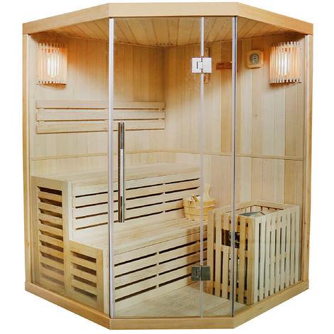 FinnTherm Traditionelle Saunakabine / Finnische Sauna Espoo