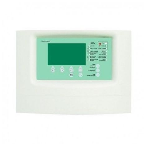 Finsecur ECSRE014 Operating report with LCD screen - AVISO-LCD