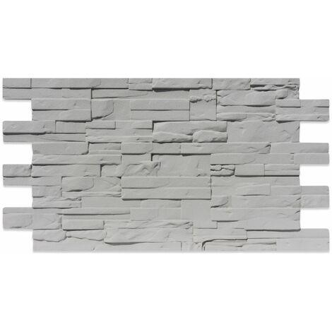 Finta Pietra Moderna In Polistirolo 110 cm X 56 cm resinato GRIGIO