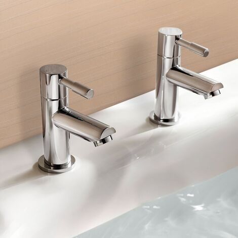 Fiona Traditional Bath Hot and Cold Taps