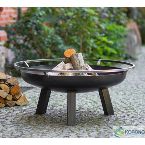 Fire Bowl with Hole 60cm