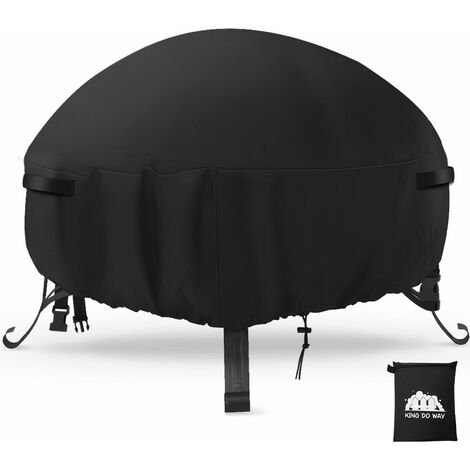 """main image of """"Fire Pit Cover Outdoor Garden Patio Waterproof UV Firepit Protector W/ Bag"""""""