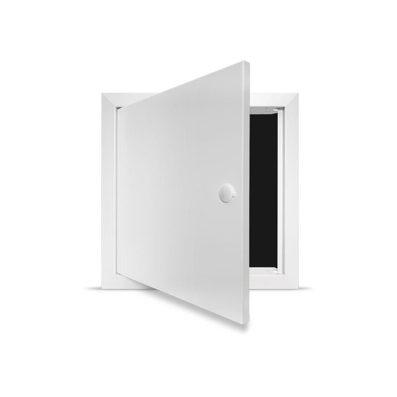 Image of Fire Rated Access Panel - Standard Lock - 200x200mm Picture Frame - Single Panel
