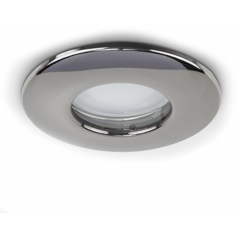 Fire Rated Bathroom/Shower Ip65 Domed Gu10 Ceiling Downlights