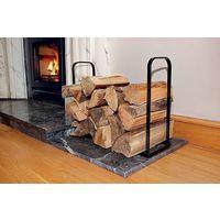 Fire Side Log Store. Plastic Coated Heavy Duty Steel. 45cm L x 16cm W x 35cm H